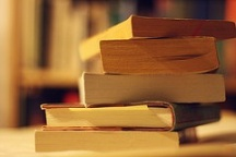 Photo of books, courtesy of ginnerobot on Flickr